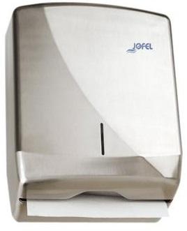 Podajnik na ręczniki <br /> składane ZZ <br /> (stal nierdzewna matowa) <br /> FUTURA ZZ
