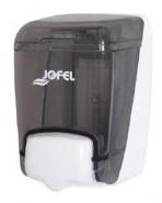 Dozownik do mydła w płynie<br /> (tworzywo ABS)<br /> AZUR TRANSPARENT