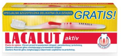 LACALUT pasta do zębów<br /> + gratis szczoteczka